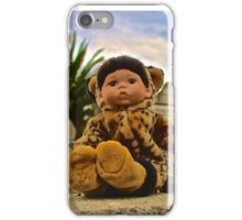 Graveyard Leopard Doll iPhone Case/Skin