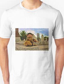 Graveyard Leopard Doll Unisex T-Shirt