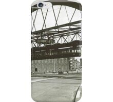 Vintage Wuppertal Floating Train Photo iPhone Case/Skin