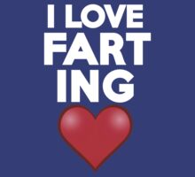 I love farting by onebaretree