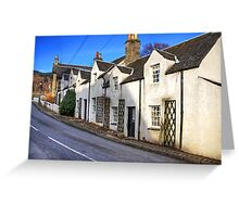 Cottages at Kenmore Greeting Card