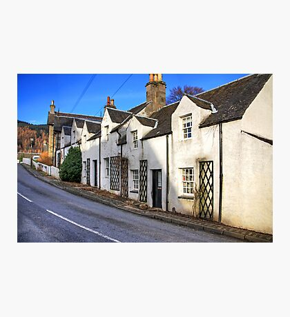 Cottages at Kenmore Photographic Print