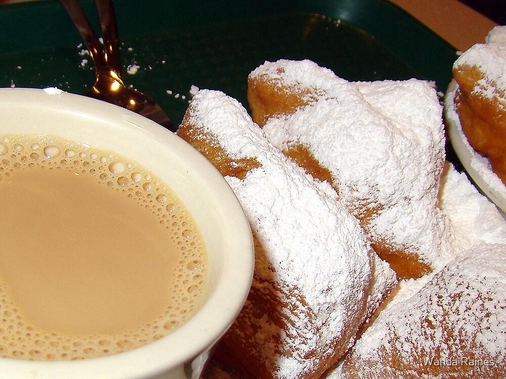 Beignets and Cafe Au lait (PLEASE VIEW LARGER) by Wanda Raines