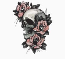 Skull and Roses One Piece - Long Sleeve