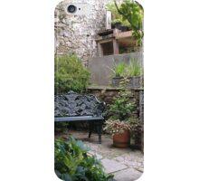 Garden Bench iPhone Case/Skin
