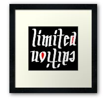 Limited Edidition Framed Print