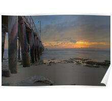 Point Lonsdale Pier Sunrise - HDR Poster