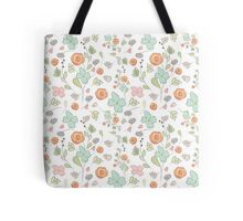 Elegant seamless pattern with flowers Tote Bag