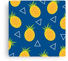 Tropical Fruits - Pineapples Ananas Canvas Print