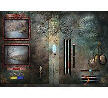 Steampunk - Control Panel Photographic Print
