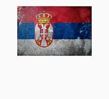 Serbia Grunge Unisex T-Shirt