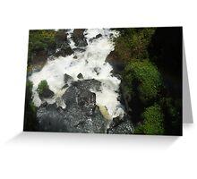 rocks through water Greeting Card