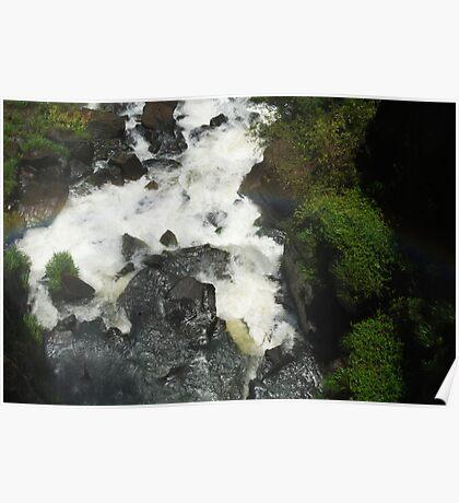 rocks through water Poster