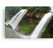 watching water falls Canvas Print