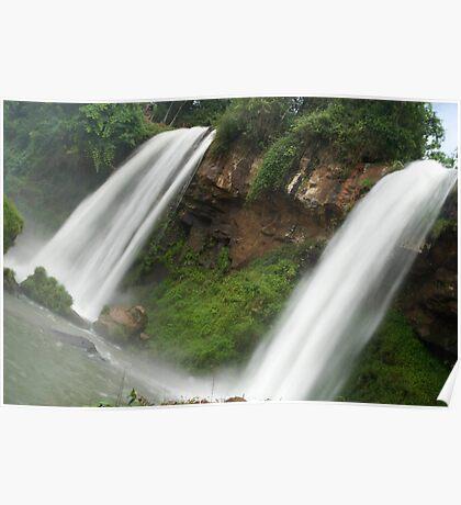 watching water falls Poster