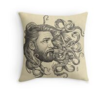 Poseidon Throw Pillow