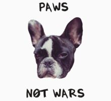 Paws Not Wars One Piece - Short Sleeve
