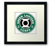 GREEN LANTERN CORPS Framed Print