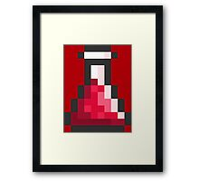 Health Potion Framed Print
