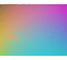 Rainbow Dot Gradient Photographic Print