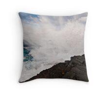 Poseidon's fury Throw Pillow