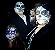 Calavera familia, Los Angeles, CA October 2010 by joshsteich