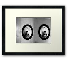 It all makes sense to me- Diptych Framed Print