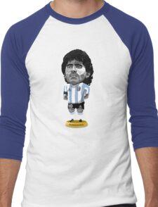 Maradona figure Men's Baseball ¾ T-Shirt