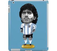 Maradona figure iPad Case/Skin