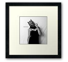 Self Portrait- studio work Framed Print