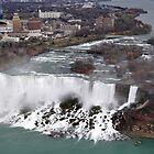 American Falls from up high by Jill Vadala