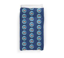 Moon Dreams with the sleeping child  Duvet Cover