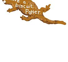 Have a biscuit, Potter by dogandbooks
