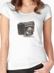 Film: not dead yet... Women's Fitted Scoop T-Shirt