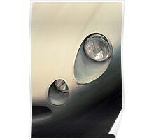 Jaguar E-type lightweight Poster