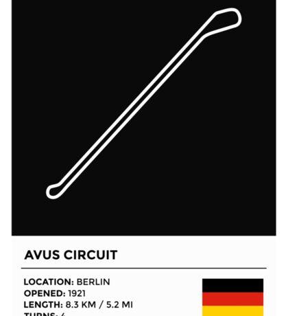 AVUS Circuit Sticker