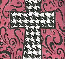 Houndstooth Cross by brookexx09