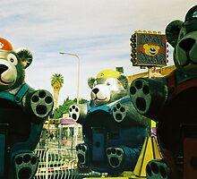 Cool Bears, Los Angeles, CA October 2010 by joshsteich