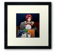 The Clocks Framed Print