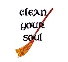 Clean your soul Photographic Print