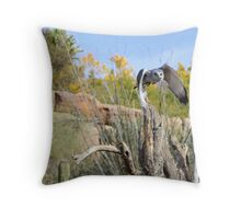 """I have my sights on you!"" Throw Pillow"