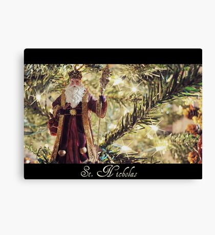 Saint Nicholas Canvas Print