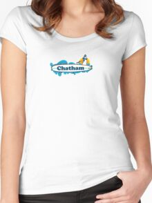 Chatham - Cape Cod. Women's Fitted Scoop T-Shirt