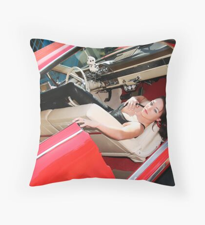 Pin Up by Sweetgrass Throw Pillow
