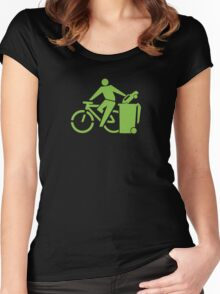 clean up.     Women's Fitted Scoop T-Shirt