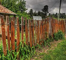 Don't Fence Me In - Hill End, Central NSW,Australia - The HDR Experience by Philip Johnson
