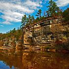 Buffalo National River in Autumn by Lisa G. Putman