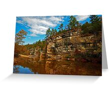 Buffalo National River in Autumn Greeting Card