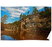Buffalo National River in Autumn Poster