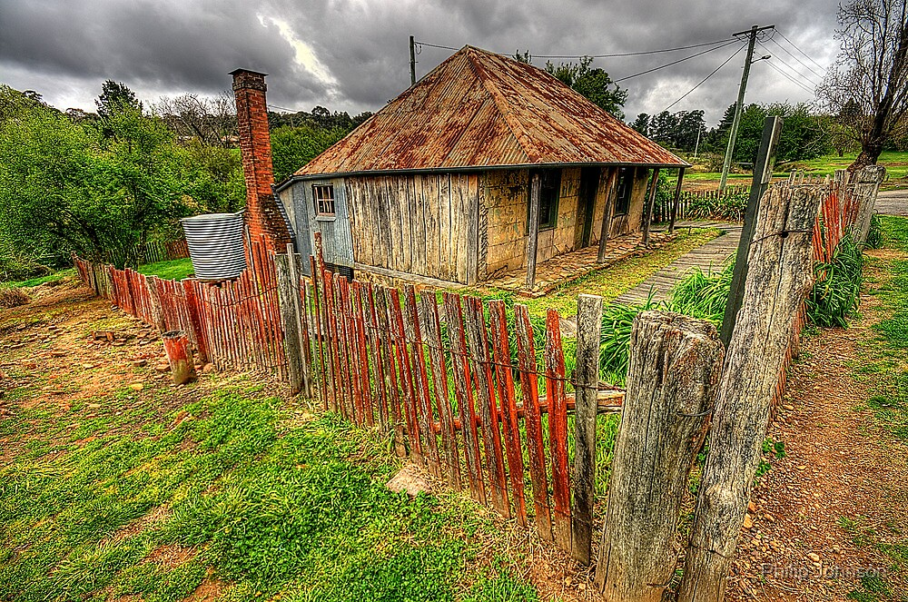 Beyers Cottage - Hill End, NSW - The HDR Experience by Philip Johnson